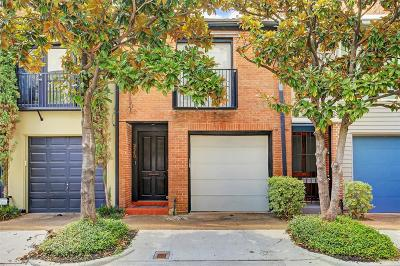 Montrose Condo/Townhouse For Sale: 3540 Yupon Street