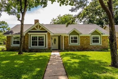 Houston Single Family Home For Sale: 2603 Rosefield Drive