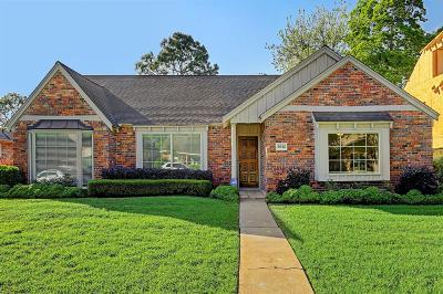 Houston Single Family Home For Sale: 5042 Yarwell Drive