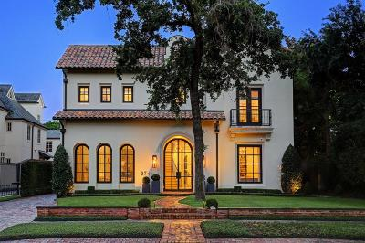 Houston Single Family Home For Sale: 3741 Inwood Drive