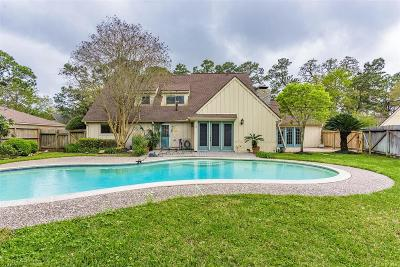 Seabrook Single Family Home For Sale: 206 Whispering Oaks Drive