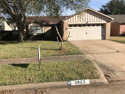 Sugar Land Single Family Home For Sale: 3823 Windmill Street