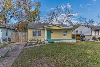 Houston Single Family Home For Sale: 3441 Mount Pleasant Street