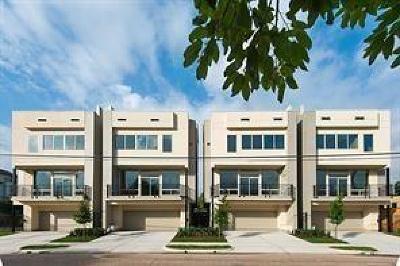 Houston Single Family Home For Sale: 1316 Wichita Street