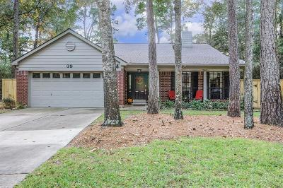 The Woodlands Single Family Home For Sale: 39 Thrush Grove Place