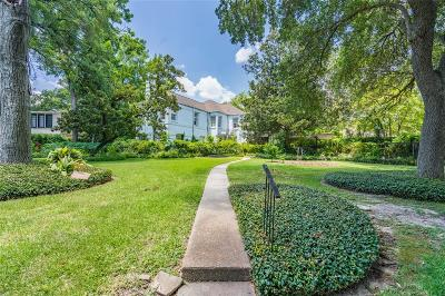 Braeswood Single Family Home For Sale: 7506 Morningside Drive