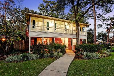 Houston Single Family Home For Sale: 1200 Pine Chase Drive