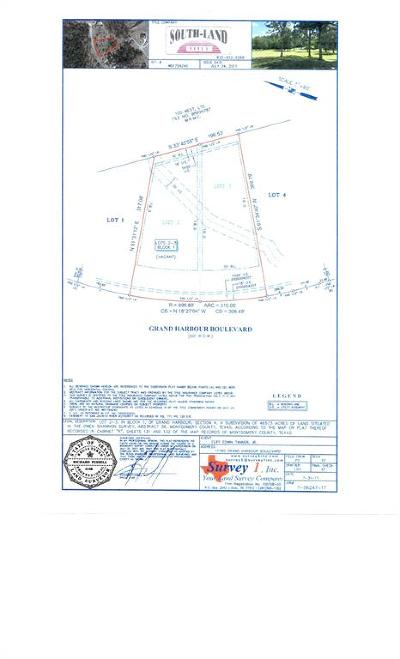 Montgomery Residential Lots & Land For Sale: 11795 Grand Harbor Boulevard
