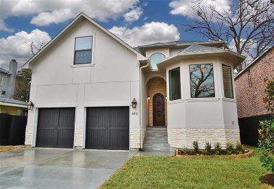 Bellaire Single Family Home For Sale: 4412 Lafayette