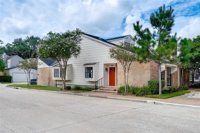 Houston Condo/Townhouse For Sale: 12625 Memorial Drive #43