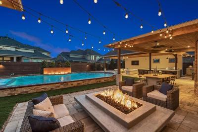 Fulshear TX Single Family Home For Sale: $750,000