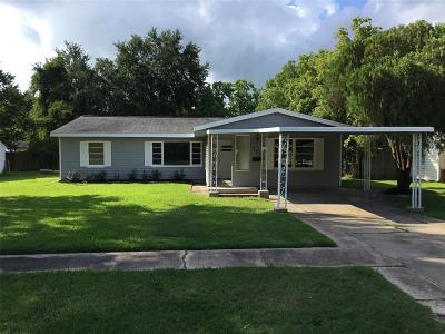 Texas City Single Family Home For Sale: 723 22nd Avenue N