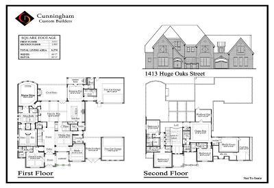 Houston Single Family Home For Sale: 1413 Huge Oaks Street