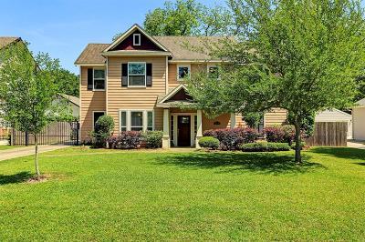 Houston TX Single Family Home For Sale: $879,000