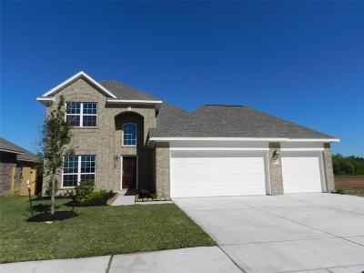 Alvin Single Family Home For Sale: 329 Burgundy Drive