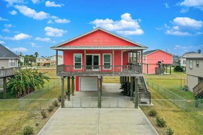 Galveston Single Family Home For Sale: 4119 Panola Drive