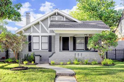 Houston Single Family Home For Sale: 1706 California Street
