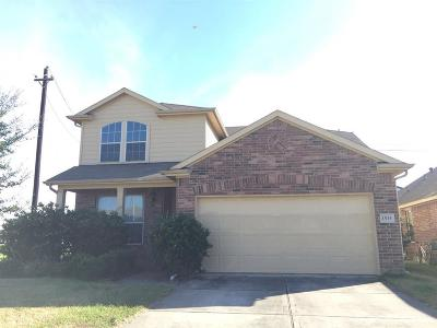 Baytown Single Family Home For Sale: 1535 Manor Drive