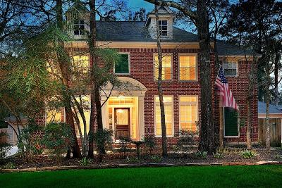 The Woodlands Single Family Home For Sale: 186 W Amberglow Circle