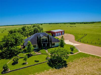 Lavaca County Country Home/Acreage For Sale: County Road
