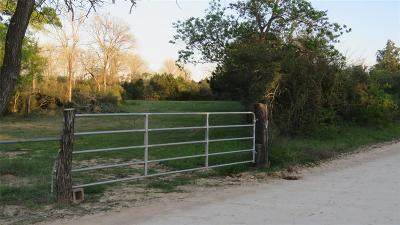Cat Spring Farm & Ranch For Sale: 15324 Sycamore Road