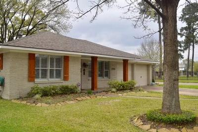Houston Single Family Home For Sale: 1255 Clovis Road