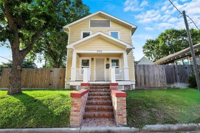 Houston Single Family Home For Sale: 2704 N Sabine Street