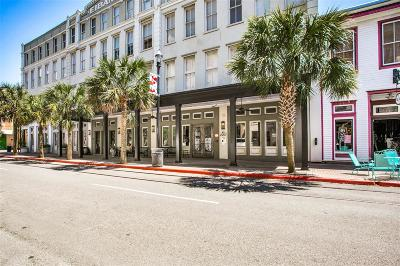 Galveston Condo/Townhouse For Sale: 2207 Post Office Street #208