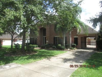 Pearland Single Family Home For Sale: 1615 Pine Crest Drive