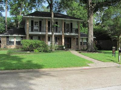 Kingwood Single Family Home For Sale: 3510 Lost Lake Drive
