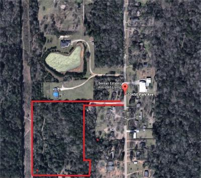 Conroe Residential Lots & Land For Sale: 13452 Park Avenue