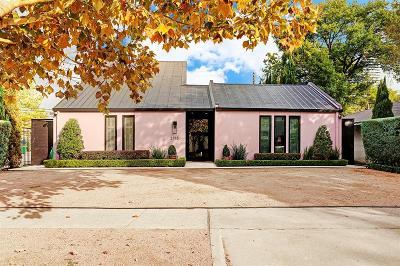 Houston Single Family Home For Sale: 2715 Drexel Drive