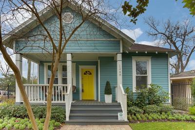 Houston Single Family Home For Sale: 1248 Oxford Street
