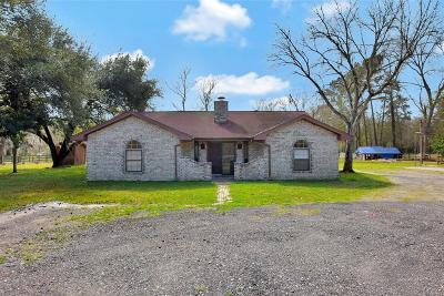 Conroe Single Family Home For Sale: 13644 McGregor Road