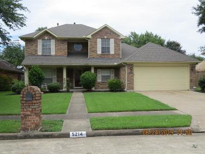 La Porte Single Family Home For Sale: 5214 Ridgecrest Drive