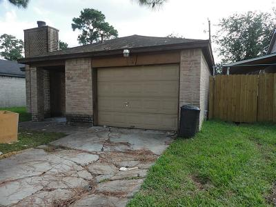 Houston TX Single Family Home For Sale: $94,462