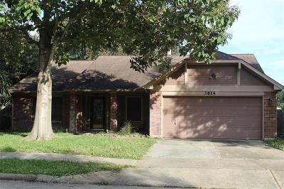 Katy Single Family Home For Sale: 3614 Wildhawk Drive
