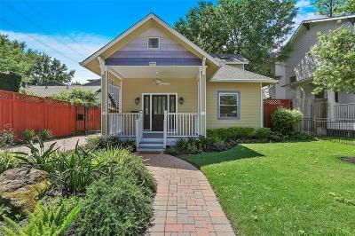 Houston Single Family Home For Sale: 909 Rutland Street