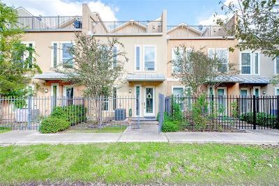 Houston Condo/Townhouse For Sale: 1634 Cohn Street
