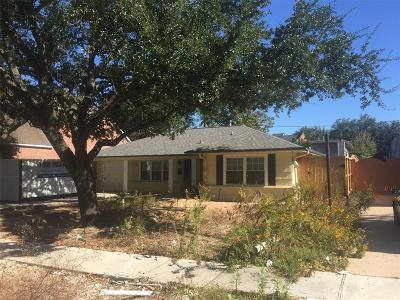 Bellaire Single Family Home For Sale: 4525 Wedgewood Drive