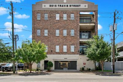 Houston Condo/Townhouse For Sale: 2510 Travis Street #102