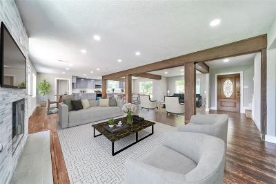 Houston Single Family Home For Sale: 18110 Oakhampton Drive