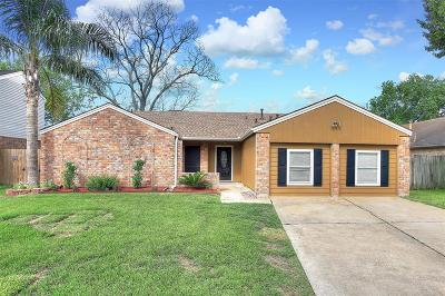 Pasadena Single Family Home For Sale: 3806 Quitman Drive