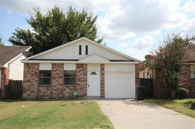 Houston Single Family Home For Sale: 3047 Patience Avenue