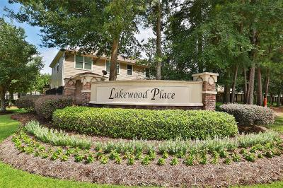 Tomball Condo/Townhouse For Sale: 16048 Limestone Lake Drive