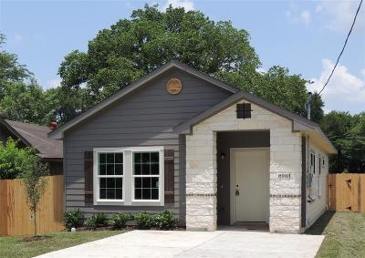 Houston Single Family Home For Sale: 8903 Intervale St