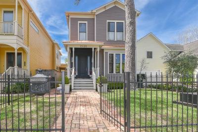 Houston Single Family Home For Sale: 1325 Ashland Street