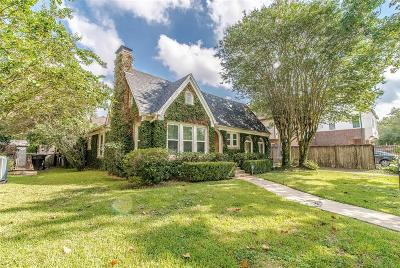 Houston Single Family Home For Sale: 2056 Branard Street