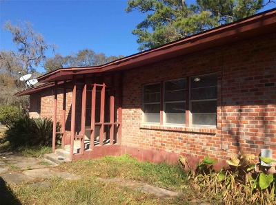 Alvin Single Family Home For Sale: 7835 Pin Oak Road