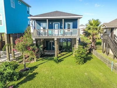 Pirates Beach Single Family Home For Sale: 4111 B Vista Road